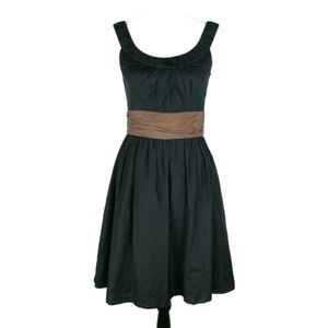 White House Black Market empire waist flare dress
